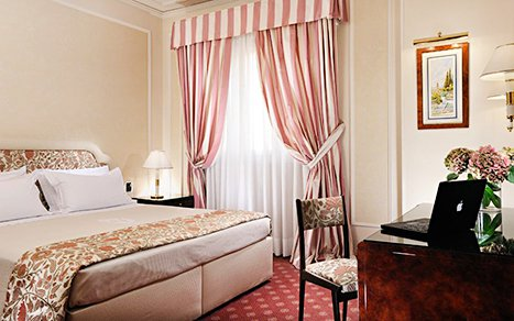 9 nights at centrally-located 4-star hotels
