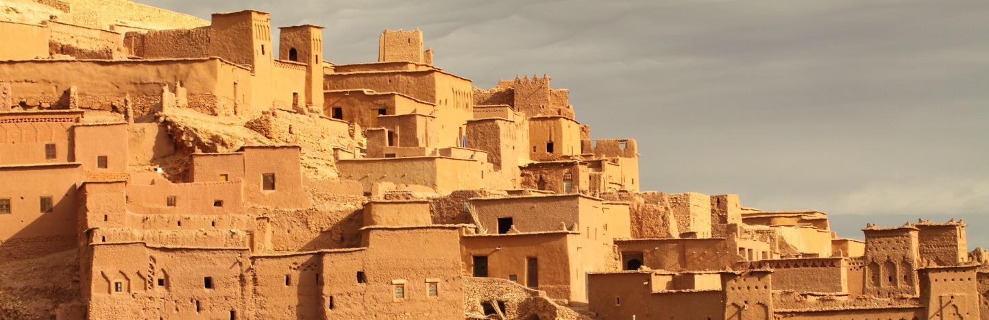 Ait Benhaddou - the unique mud brick city on the edge of the High Atlas Mountains