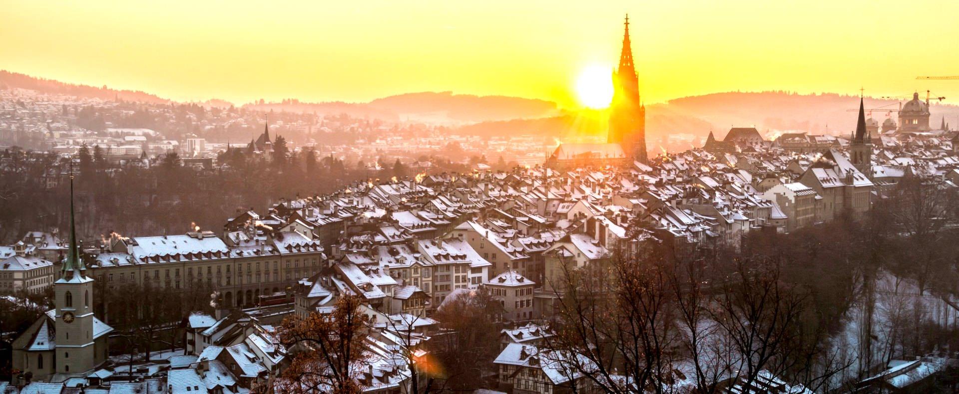 Winter Bern, Switzerland