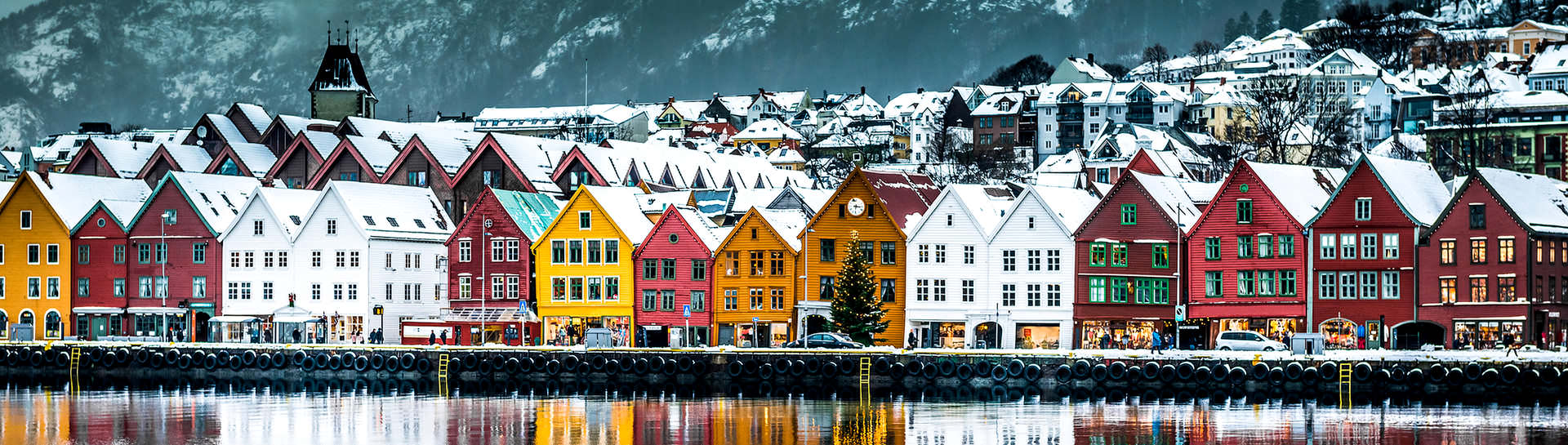 Visit Norway's second largest city of Bergen that is a gateway to the magnificent land of fjords