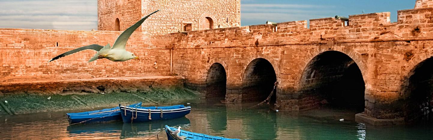 Coastal city of Essaouira