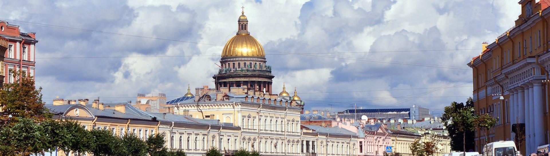 River in Saint Petersburg
