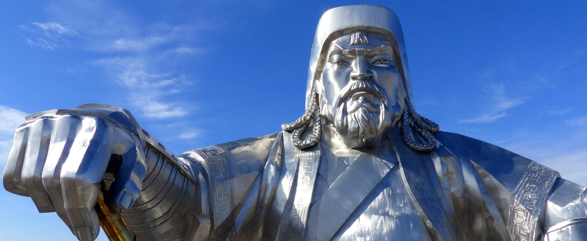 Mongolia Statue