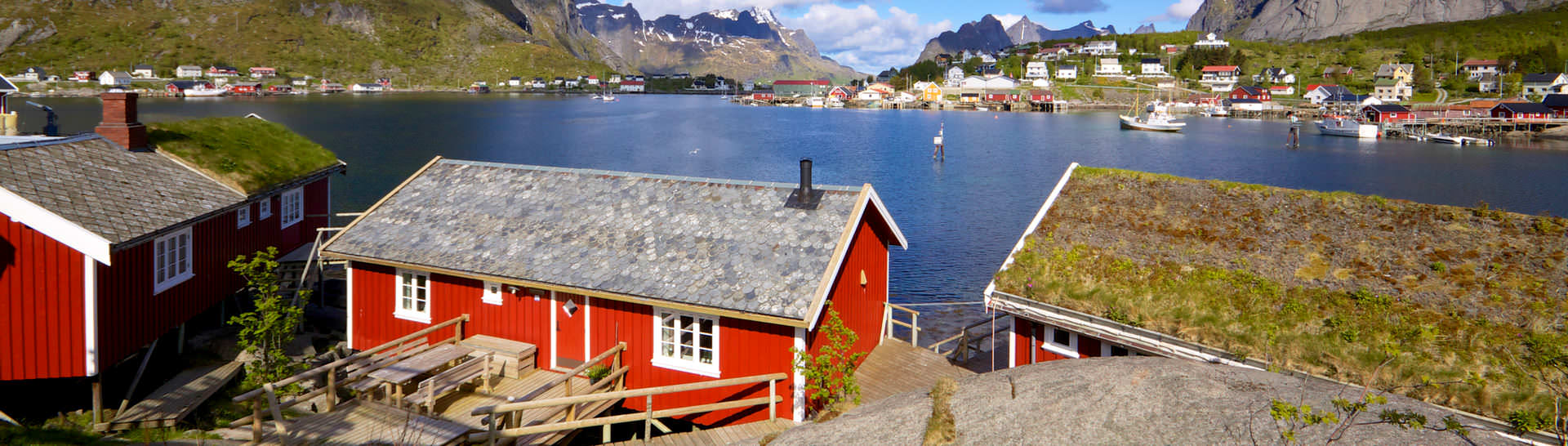 Visit a traditional fishing village of Reine to slow down and soak in some of the most picturesque fjord views