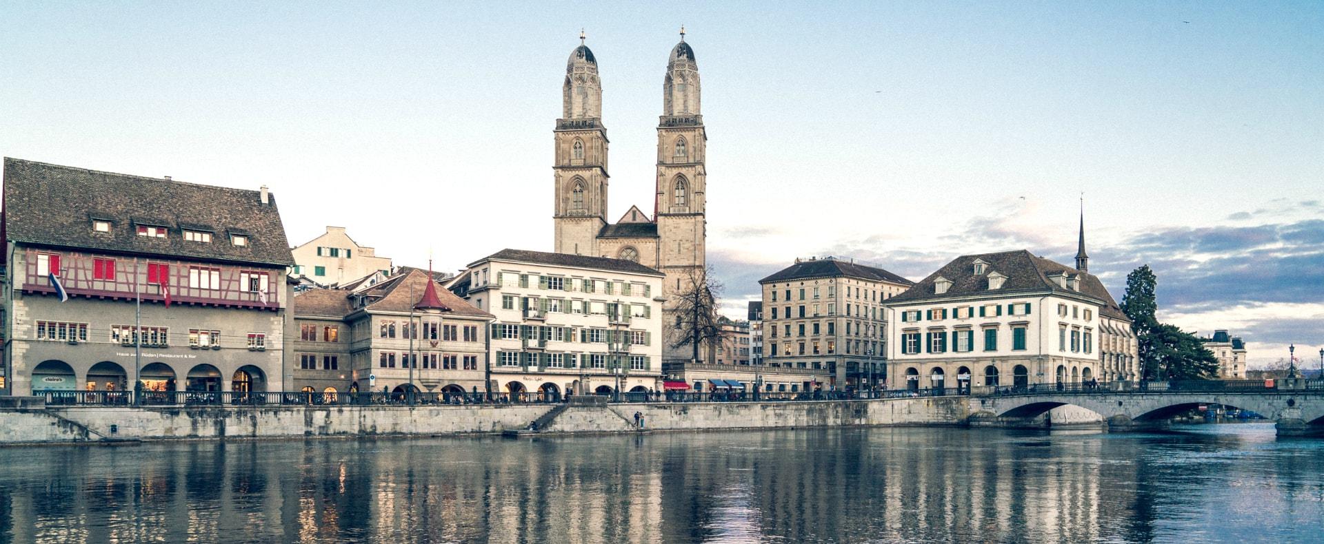 Zurich Grossmunster Church, Switzerland