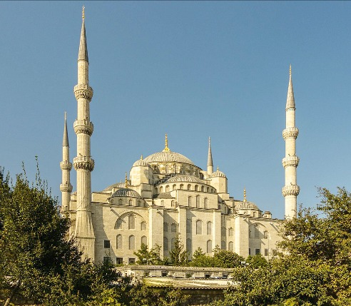 Visit The Blue Mosque, Istanbul