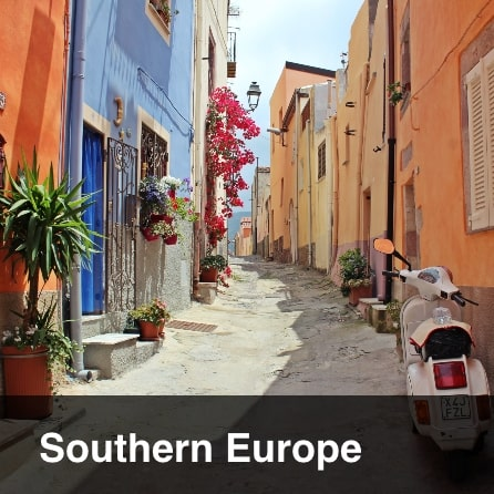 Tours to Southern Europe