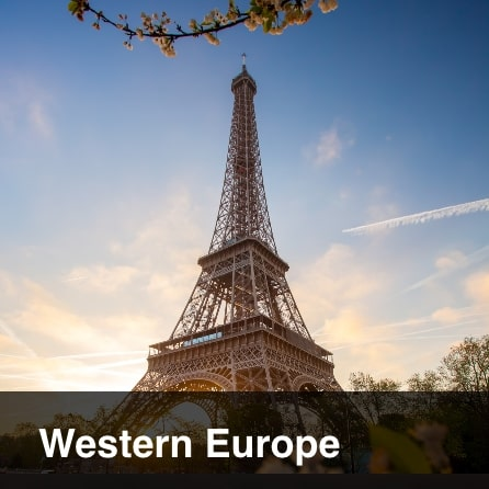 Tours to Western Europe