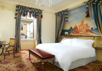 Accommodation at select 5-star hotels
