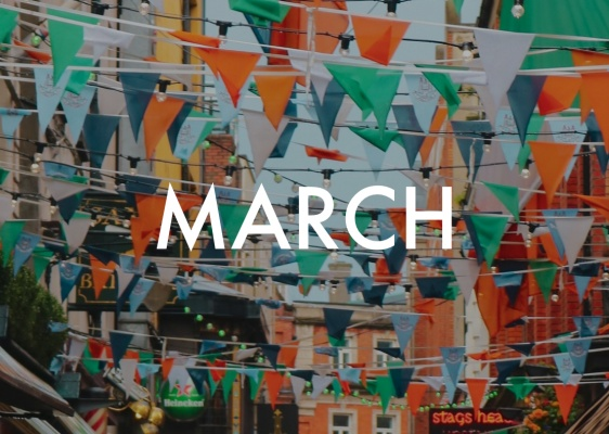 European Celebrations in March