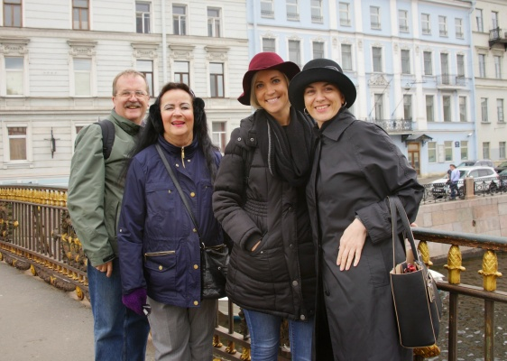 """""""Don't go to St. Petersburg, you may stay there forever"""" - Real Client's Review"""