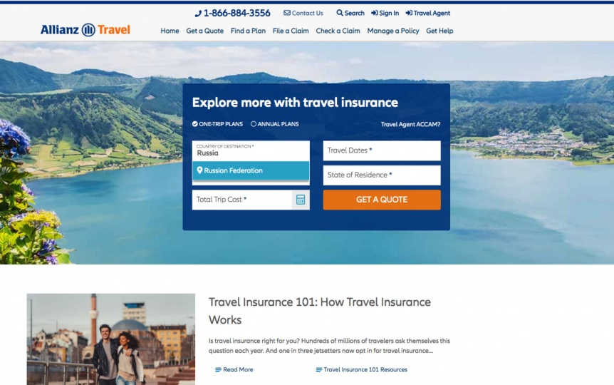 Russia Travel Insurance