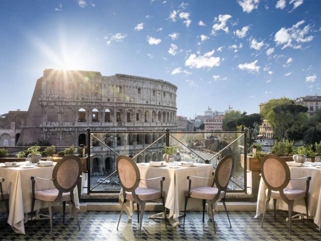 Aroma Restaurant, Rome