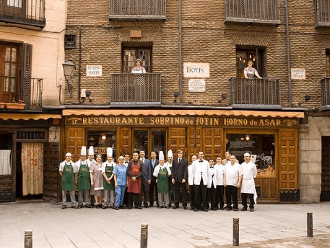 Sobrino de Botin Restaurant, Madrid
