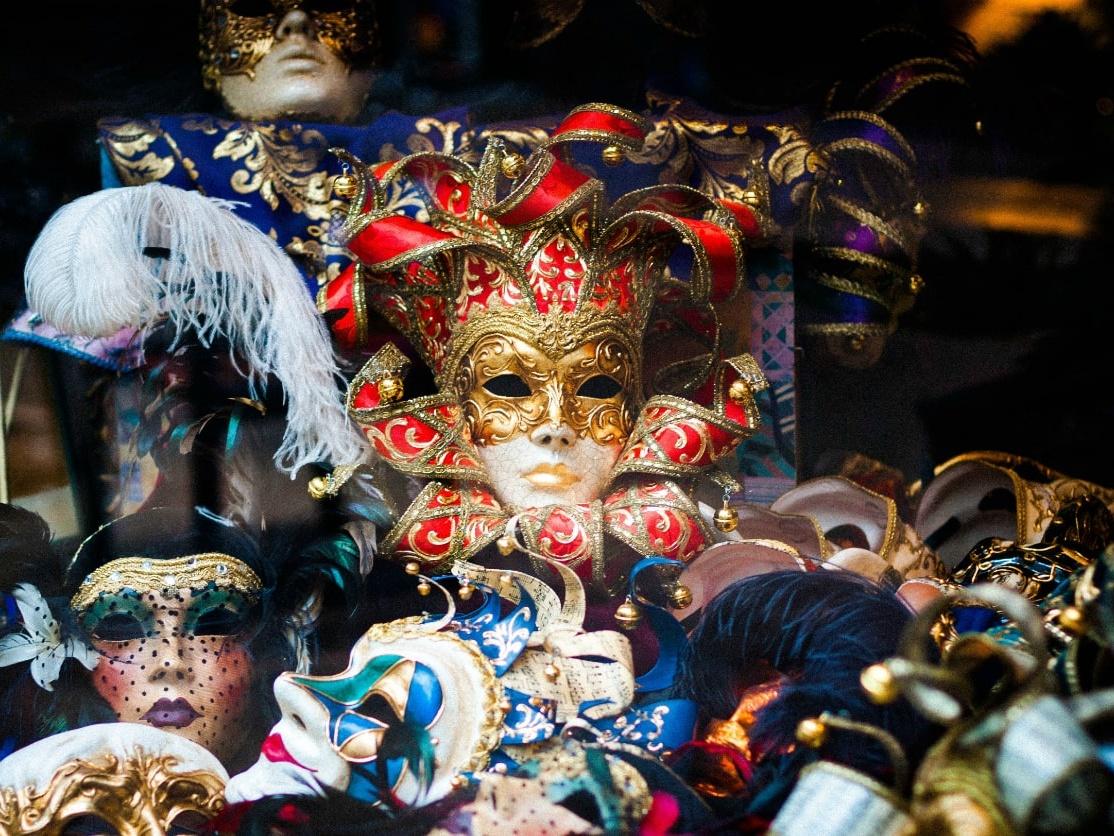 Venetian Carnaval Masks