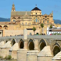 Great Mosque and Puente Romano, Cordoba, Spain