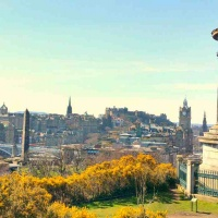 Dugald Stewart Monument, Calton Hill, Edinburgh, United Kingdom