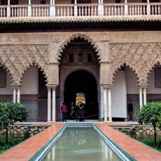 Real Alcazar of Seville, Spain