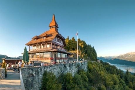 Alpine Switzerland panorama