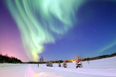 Russia Northern Lights