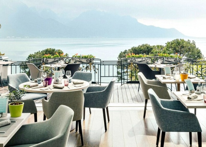 Ads Grand Hotel Suisse Majestic, Montreux