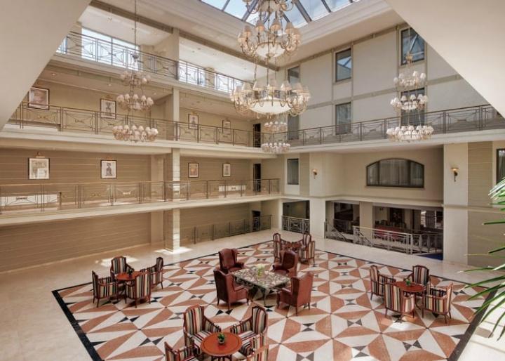 Atrium, Kempinski Hotel Moika 22