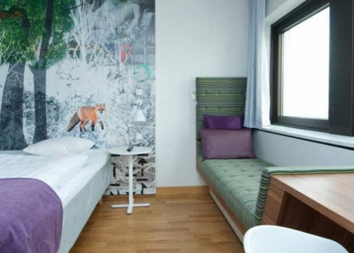 Standard room at Copenhagen Scandic