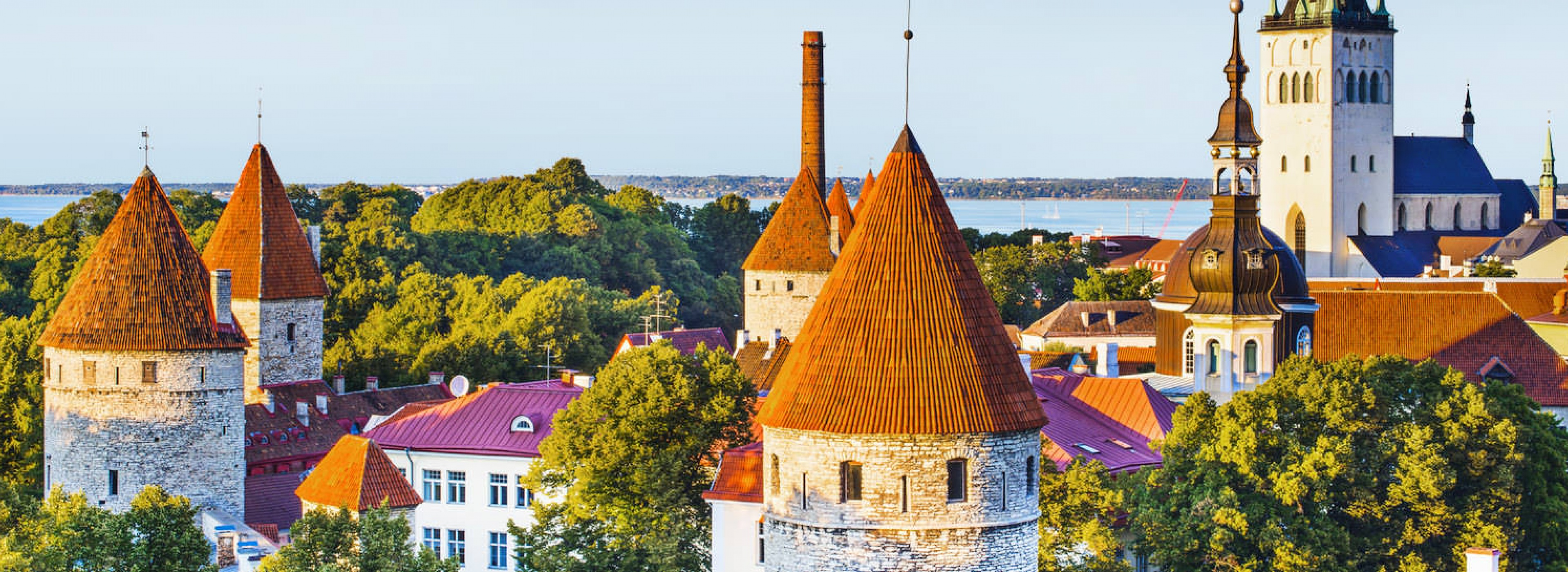 Enjoy a fascinating journey through time in the perfeсtly-preserved Old Towns of the Baltic Capitals