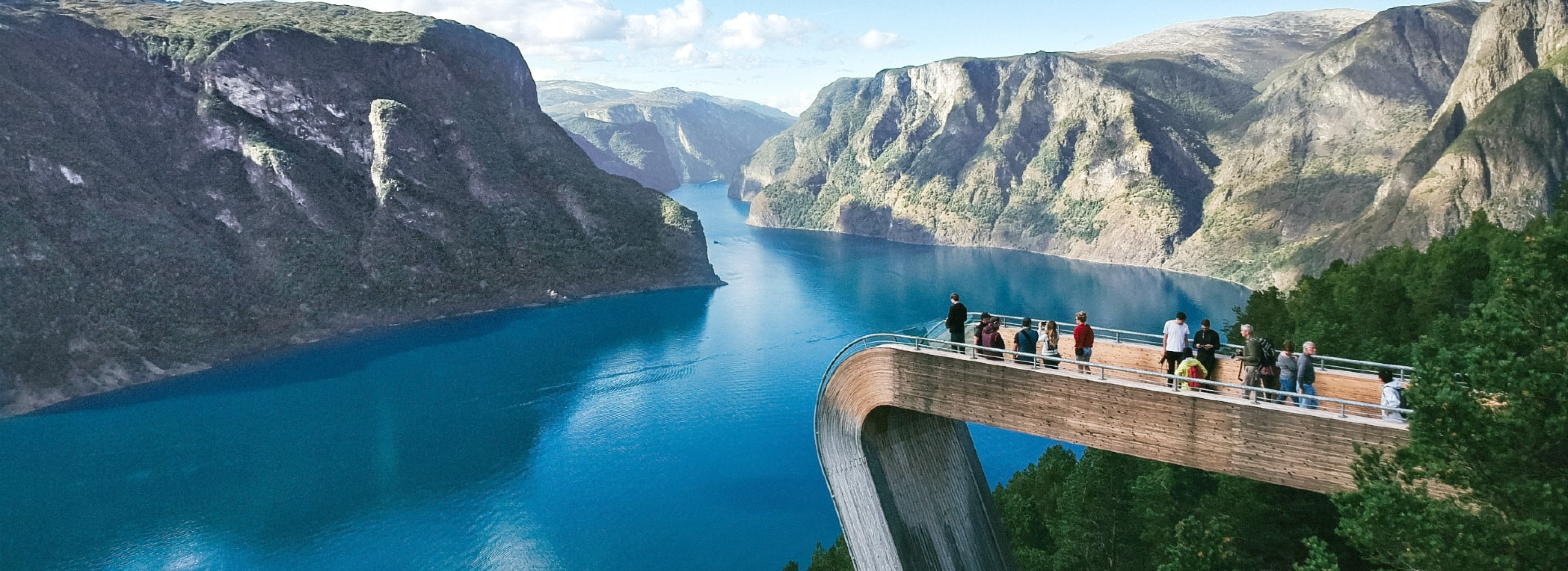 Aurland Viewpoint Near Flam, Norway