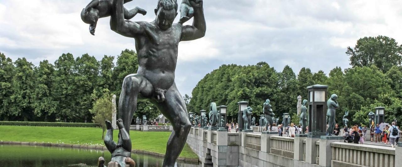 Frogner Park, Oslo, Norway